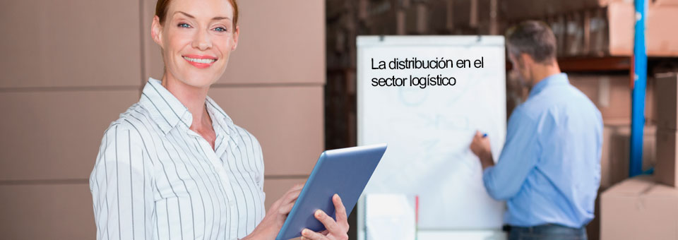 ¿Cuál es el papel de la distribución en el sector de logística y el transporte?