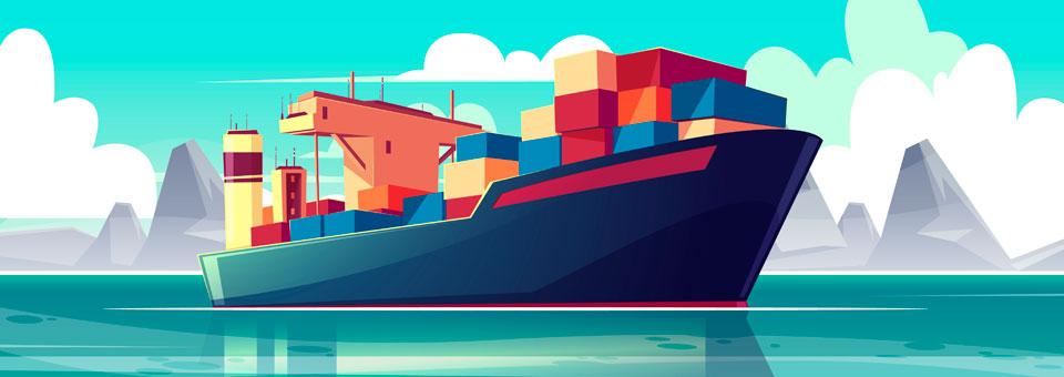 (Español) Logística y transporte; ¿cuántos tipos de transporte marítimo existen?