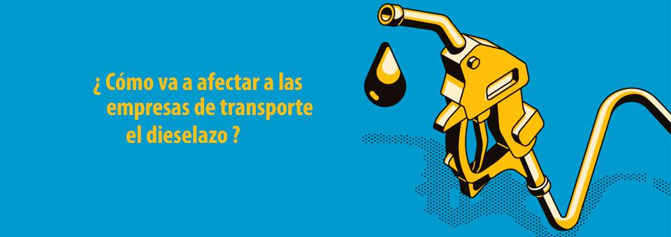 ¿Cómo afecta la subida del diésel al sector del transporte y la logística?
